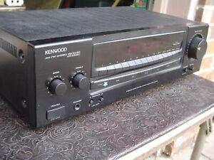 Kenwood KR-A3060 2 Channel Black Face Digital Stereo Receiver Made in Korea