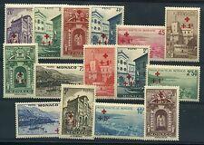 """MONACO N° 200/14  """" SERIE CROIX ROUGE 1940 """" NEUFS XX TTB."""