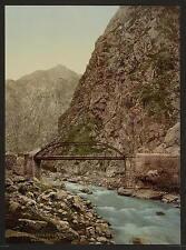 La strada al primo ponte II groussie A4 FOTO STAMPA