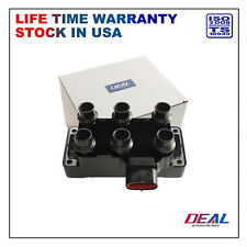 1pc New Ignition Coil Pack For Ford Mazda Mercury V6 With Horizontal Plug Coil