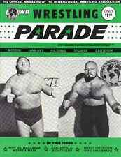 IWA Wrestling Program (1975, NJ) Brower & Koloff, Ernie Ladd & T-Bolt Patterson