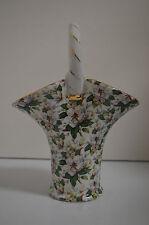 Formalities by Baum Bros Handled Basket Victorian Design Vase