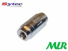 SYTEC ONE WAY VALVE WITH 1/8 NPTF FEMALE CONNECTIONS INJECTION OR CARB MLR.AZC