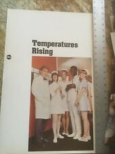 Temperatures Rising / Rare ABC Promotion Poster With Cleavon Little