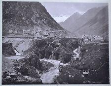 Fotografie,Goeschenen, Schweiz,Kanton Uri, etwa1900