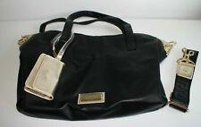 VERSACE Women's Bag Black & Gold + Purse + Dust Bag New GENUINE FREE P&P (V11)