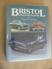 BRISTOL CARS an ILLUSTRATED HISTORY OXLEY CROWOOD BOOK 400 402 404 ARNOLT