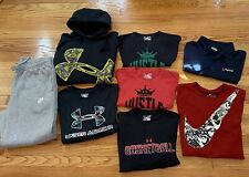 Under Armour Shirt Mens Size XL Athletic Clothing Lot Of 8 Items Nike Sweatpants