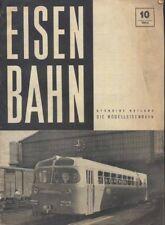 EISENBAHN Ployer staendige beilage modelleisenbahn 1955 METRO ROMA B Ostiense ax