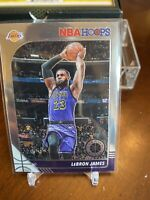 2019-20 NBA Hoops Premium Stock Lebron James #87 Lakers