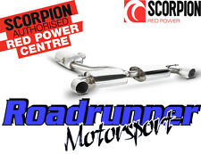 "Scorpion Golf GTI MK6 Exhaust System 3"" Cat Back Resonated With EC / TUV SVW036"