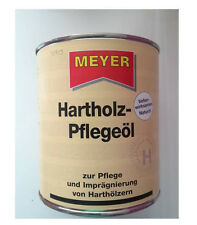 Meyer Hartholz - Pflegeöl natur 750ml Holzschutz Imprägnierung Holzpflege