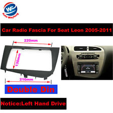 2 DIN Radio DVD Stereo fascia CD Panel Dash Mounting for SEAT LEON LHD