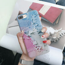 For iPhone XS Max XR X 8 7 6s Frosted Marble Pattern Matte Soft Back Case Cover