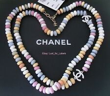 NWT CHANEL Candy Supermarket CC Runway Necklace Limited Edit. Sold Out BNIB 14K