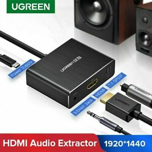 Ugreen HDMI to HDMI Optical Toslink SPDIF Audio Extractor Converter for PS4 DVD