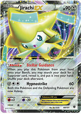 Pokemon Plasma Blast Jirachi-EX 60 Rare Holo Card