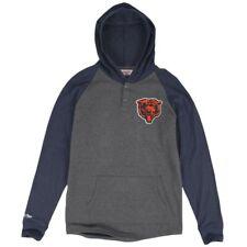 Chicago Bears NFL Mitchell Ness Home Stretch Long Sleeve Sweatshirt Hoodie NWT