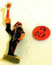 Signaleur avec Truelle Preiser ? Figurines en bois Années 50 Ans H0 1:87 PH057 å