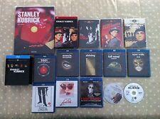 Stanley Kubrick lotto box 14 blu ray dvd Libro arancia meccanica barry lyndon