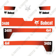 Bobcat 3400 4x4 Utility Vehicle Replacement Decals 2010