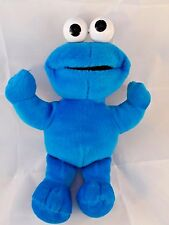 "Fisher Price Sesame Street Muppets Cookie Monster Plush Doll 12"" Stuffed Animal"