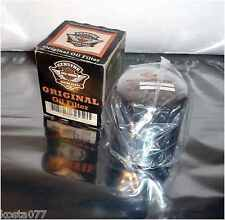 NOS GENUINE HARLEY-DAVIDSON MOTOR PARTS, Oil Filter, 63796-77A, HOG H-D, Chromed