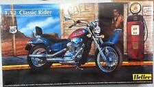 KIT HELLER  1:12  MOTO DA MONTARE E COLORARE  CLASSIC RIDER   ART 80907