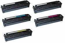 5 tóner XXL para impresora láser HP Pro 200 COLOR M276n M276nw cf210x-213a 131a