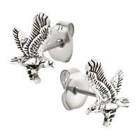 Ohrstecker Adler Ohrring aus Sterling Silber für Kinder Damen und Herren