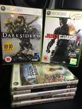Xbox 360 Spielepaket komplett mit Handbüchern Shooter Action versandkostenfrei