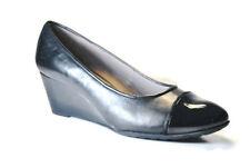 Geox Venere Wedge Pump Womens Casual Shoes BLACK, Size: 10