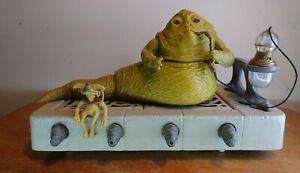 Vintage Star Wars Jabba The Hutt Playset (©LFL 88 HK) - FREE UK POSTAGE