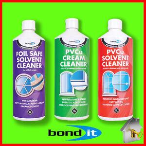 UPVC Solvent/Foil Safe/Cream Cleaners for Window & Doors Bond-It PVC Windows