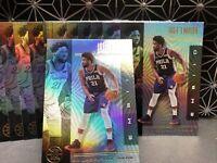 2019-20 Panini Illusions Joel Embiid Lot (15) #63 Philadelphia 76ers