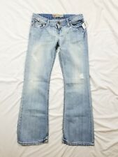 NWT BKE Sabrina Buckle Light Wash Distressed Jeans Size 27x31 New
