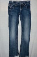Miss Me Jeans 25 JP5800BV Boot with Embelished Flap Pockets-EUC