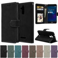 Matte Wallet Leather Flip Case Cover For Asus 5 ZB501KL ZC520TL ZC553KL ZC520KL