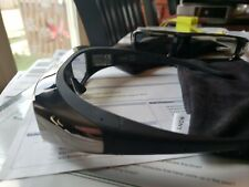 Lot of 2 Sony 3D Glasses Model TDG-BR100 with Sony Original Covers