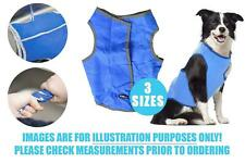 Pet Cooling Dog Vest Reflective Lightweight Reusable 6 Hours Cool 3 Sizes