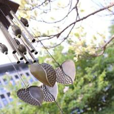 Hearts Metal 8 Tube Wind Chimes Mobile Windchime Church Bell Hanging Decor