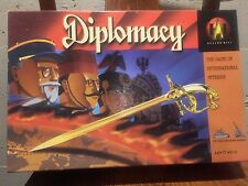 Diplomacy Board Game Avalon Hill Classic Big Box Edition Complete Game