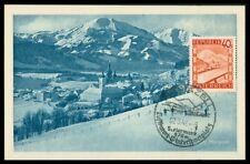 AUSTRIA MK 1948 MARIAZELL MAXIMUMKARTE CARTE MAXIMUM CARD MC CM h0724