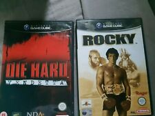 rocky  and die hard on gamecube