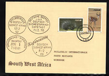 South West Africa Cover Tsumeb 28.08.1985 Philatelic Cover