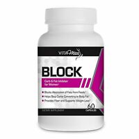 Vitamiss Block –Dual Action Fat & Carbohydrate Intercept Weight Loss Supplement