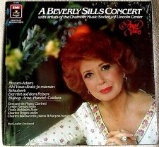 A Beverly Sills Concert 1985 Angel Voices Records # AV-34036 OPERA Sealed LP