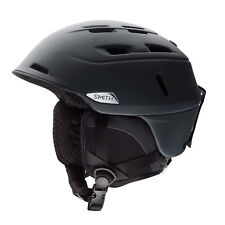 Smith Men's Camber Snow Ski Bike Helmet Matte Black Small