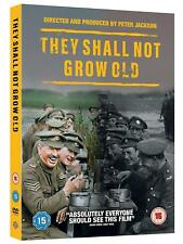 THEY SHALL NOT GROW OLD (2018)  Peter Jackson WWII Documentary NEW R2 DVD not US