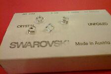 SWAROVSKI ®  20 Pezzi 4868-8 mm. Crystal Square Original Vintage UnFoiled Quadro